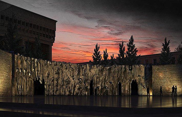 ВМагадане открыли выставку, посвящённую «Стене скорби»
